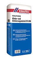 Смесь минеральная сухая, клеящая, армирующая, Краутерм (Krauthеrm Klebe- und Armierungsmörtel 95 UNI) 25 кг