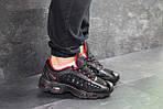 Мужские кроссовки Nike Air Max (черно-красные), фото 3