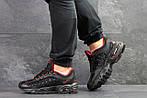 Мужские кроссовки Nike Air Max (черно-красные), фото 4