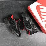Мужские кроссовки Nike Air Max (черно-красные), фото 5