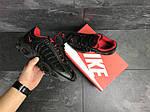 Мужские кроссовки Nike Air Max (черно-красные), фото 6
