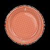 Тарілка паперова  ХТ18 100шт 16см (10/1000) Кольорова, фото 3