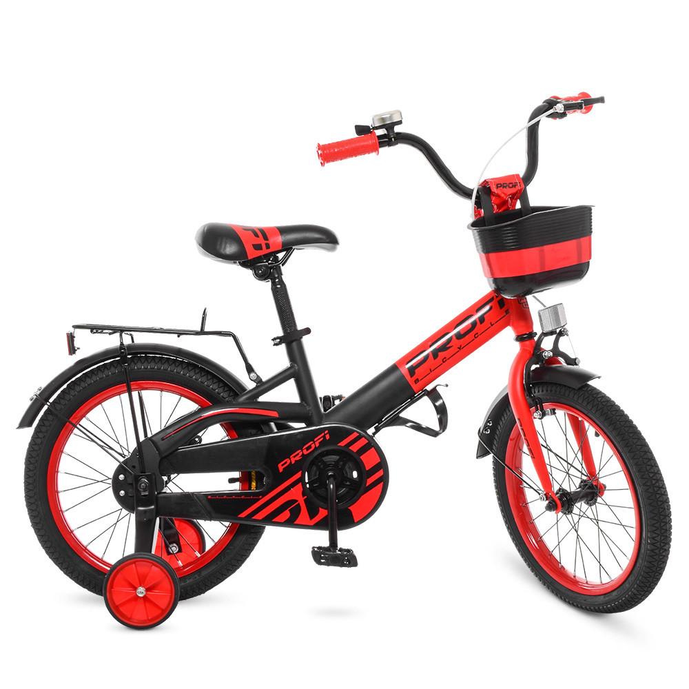 "PROFI Велосипед PROFI Original 16"" W16115-5 Red / Black mat (W16115M)"