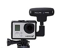 Внешний профессиональный микрофон ProMic Polar Pro для GoPro + 3 аксессуара