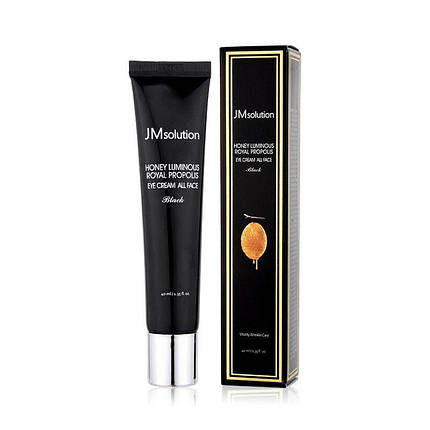 Крем для глаз и лица с прополисом JM Solution Honey Luminous Royal Propolis Eye Cream All Face Black 40ml, фото 2