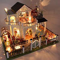 """3D Румбокс """"Семейная вилла"""" - Кукольный Домик Конструктор / DIY Doll House от CuteBee"""