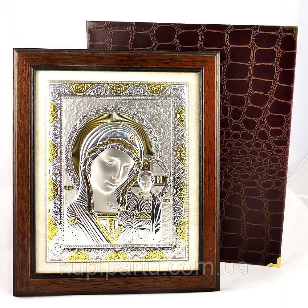 Икона Божья Матерь в деревянной рамке Гранд Презент 204