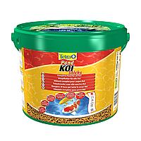 Сухой корм для прудовых рыб Tetra в палочках «KOI Sticks» 10 л (для карпов кои)