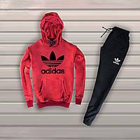 Спортивный костюм (худи+штаны), спортивний костюм Adidas S1003, Реплика