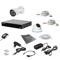 Комплект видеонаблюдения Tecsar AHD 2MIX 2MEGA, фото 1