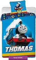 Детское постельное белье Паровоз Томас и друзья, подарок для мальчика