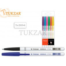 TZ 2019-6 Набор шариковых ручек 6 цветов TUK