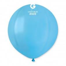"""Шары большие латексные 19"""" (48 см.) голубой"""