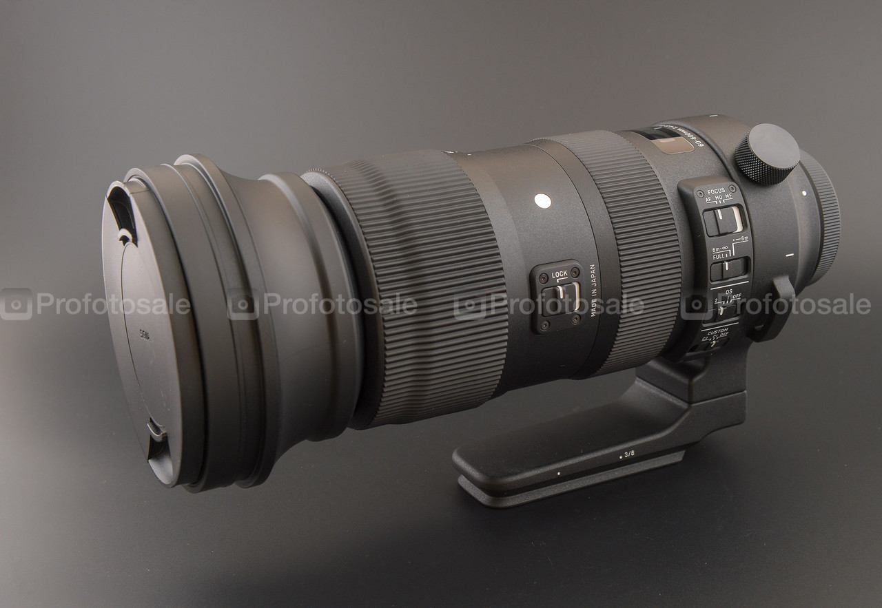 Sigma AF 60-600mm f/4,5-6,3 DG OS HSM Sports Canon
