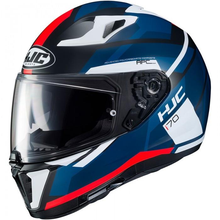 Мотошлем HJC I70 Elim MC1SF синий / красный / белый, L