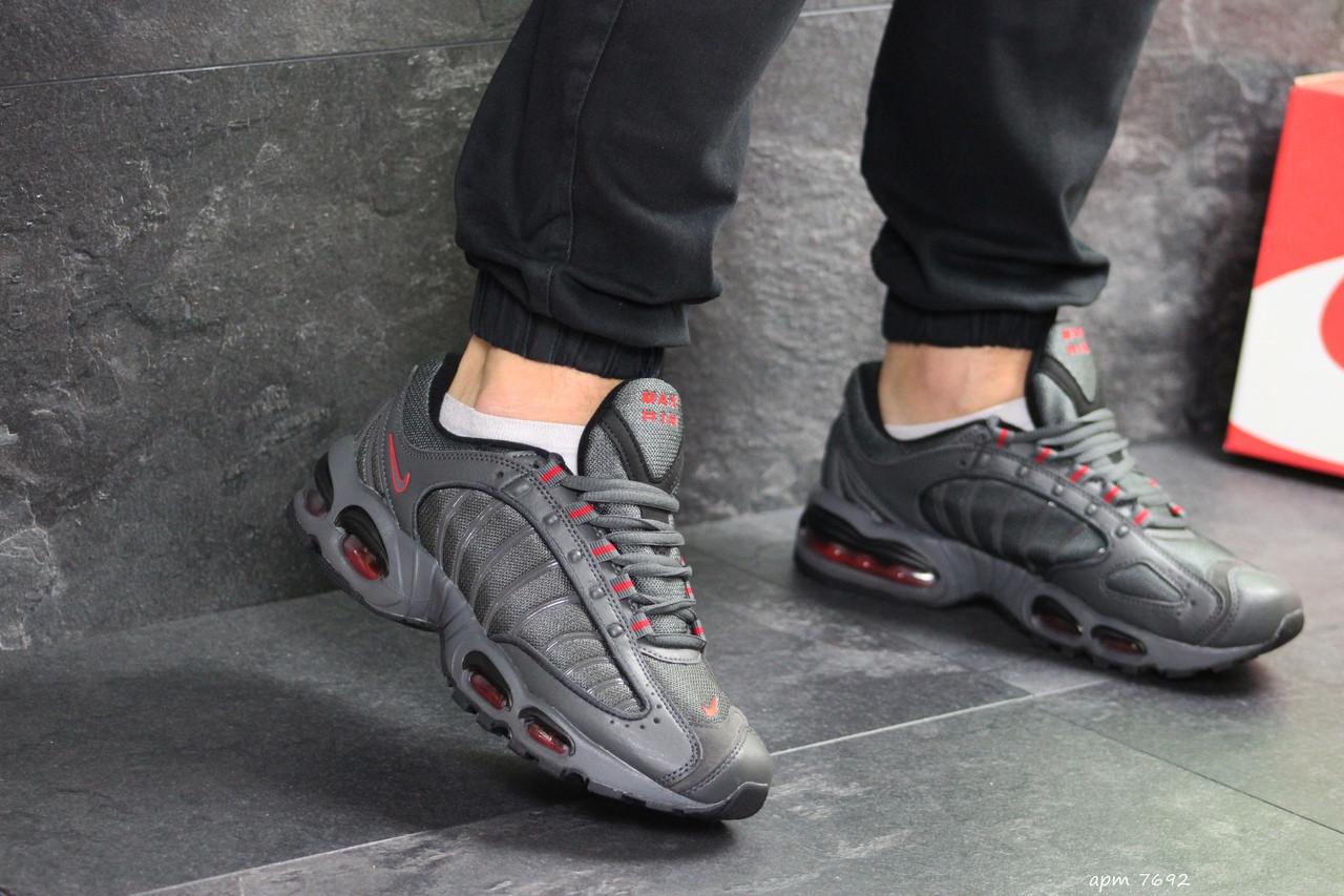 Мужские кроссовки Nike Air Max (серые)