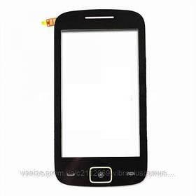 Тачскрин (сенсор) Motorola EX128, EX245, black (чёрный)