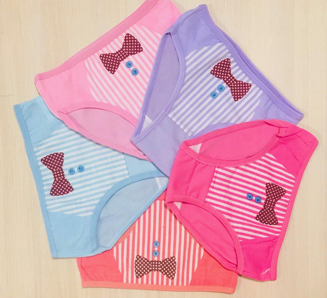 Трусики-плавки детские для девочек хлопок размер S (1-3 года)