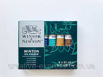 Фарба олійна WOC TUBE SET 6*21ml  WINSOR & NEWTON