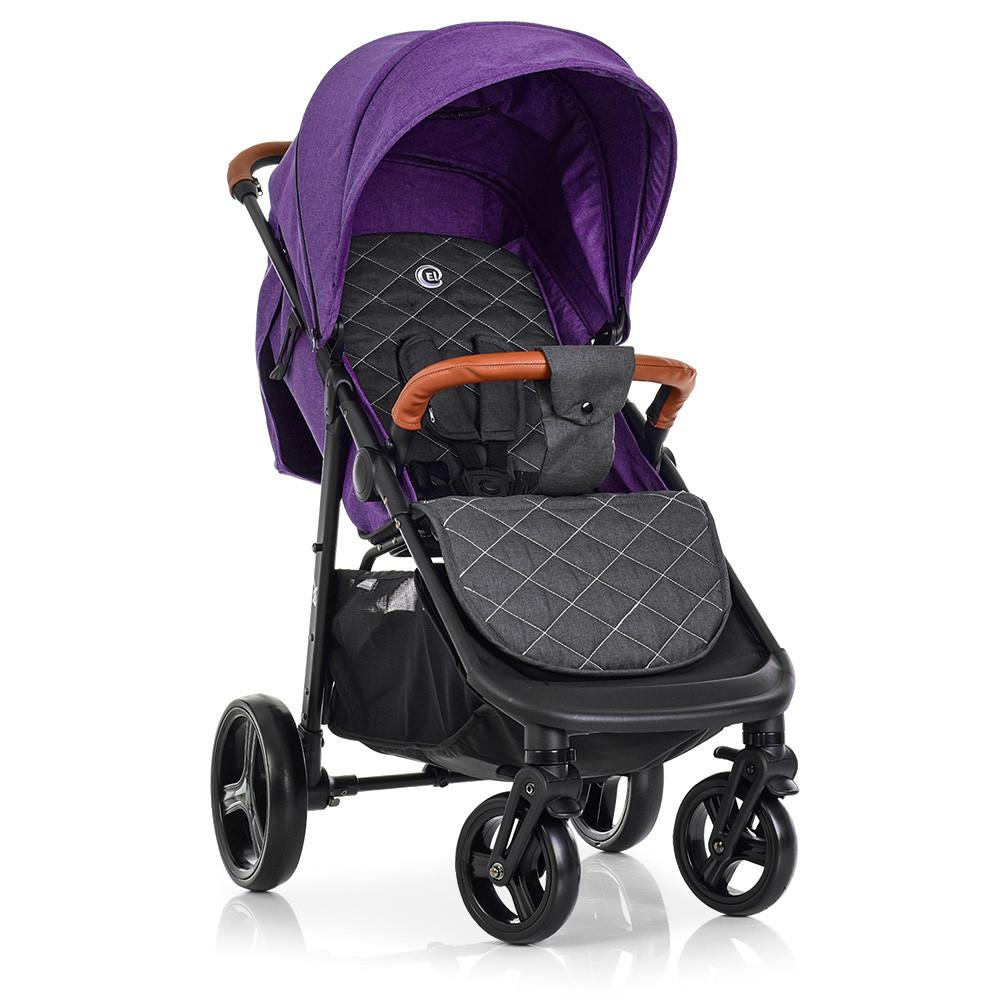 Коляска детская ME 1024L EL CAMINO X4 Violet Фиолетовый