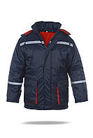 Куртка утепленная для моряков, масло-водоотталкивающая ткань с дополнительным утеплением
