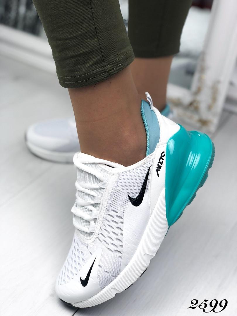 eadc20fe Женские белые кроссовки Nike (копия), из текстиля 36,41 ПОСЛЕДНИЕ РАЗМЕРЫ