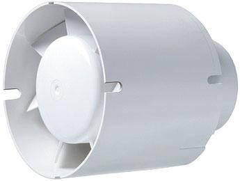 Бытовой канальный вентилятор BLAUBERG Tubo 100  (Германия), фото 2