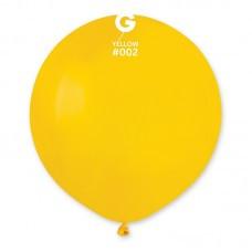 "Шары большие латексные 19"" (48 см.) желтый"