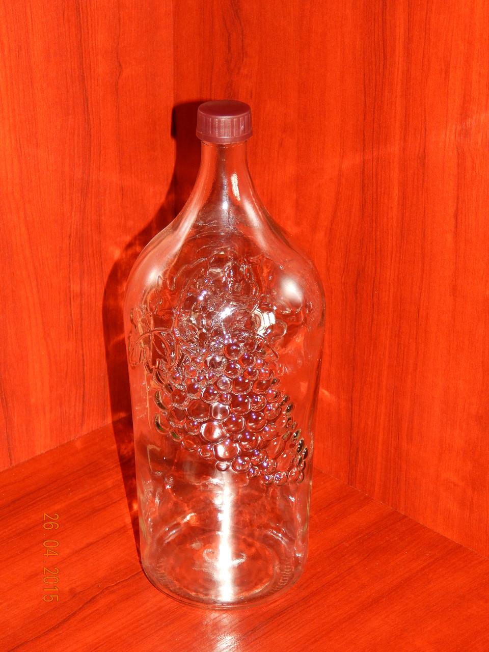 Бутылка для вина 2 л с крышкой