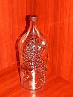 Бутылка для вина 2 л с крышкой , фото 1