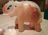 Слон, оникс,12х8,5 см, Оригинальные подарки, Днепропетровск, фото 1