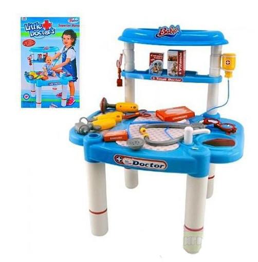 Игровой набор юного доктора Limo Toy 008-03 Медицинский столик