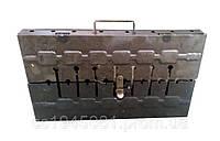Мангал-чемодан  на  10 шампуров.