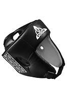 Шлем турнирный BERSERK SCANDI-FIGHT (кожа) black/white (размеры в ассортименте)