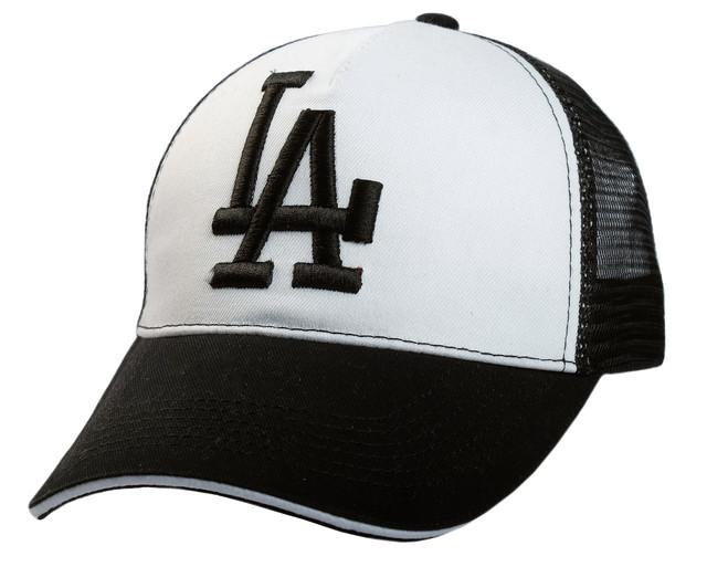 Бейсболка LA вышивка + сетка