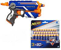 Игрушечный пистолет Nerf Firestrike + набор патронов 30шт