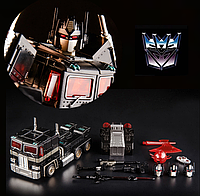 Трансформер Оптимус Прайм (Немезис)  из м\с Поколения - Nemesis Prime, G1, Masterpiece, KuBianBao, 19CM