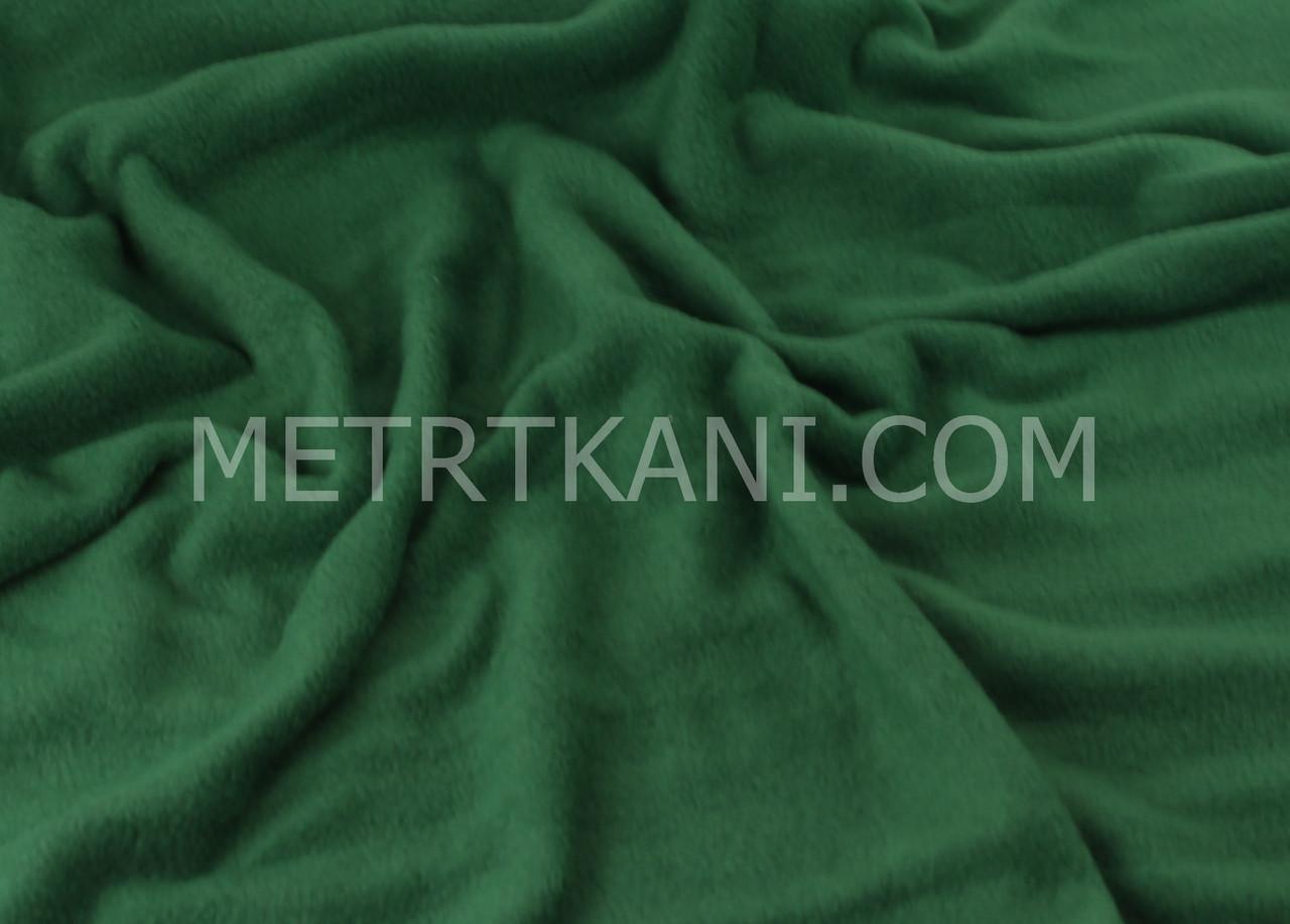 Флис  зеленого цвета 200 г/м2 №-ф13