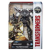 """Трансформер Гримлокиз 5-й части кинофильма- Dinobot Grimlock, Voyager Class, """"Premier Edition"""", Hasbro"""