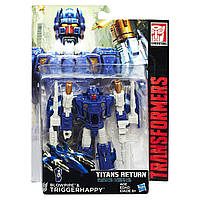 "Трансформер Тригерхеппи и Бловпайп ""Возвращение Титанов"" - Triggerhappy&Blowpipe,Titans Return, Deluxe, Hasbro"