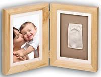 Набор Baby Art Print Frame natural (фоторамка + отпечаток ножки)