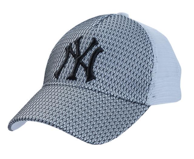 Бейсболка NY вышивка + соты/сетка