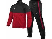 Мужской спортивный костюм Nike красно-черный