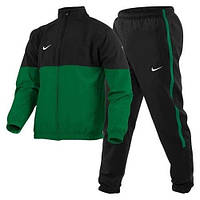 Мужской спортивный костюм Nike черно-зеленый