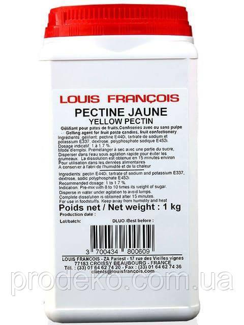 Пектин желтый Yellow pectin Франция Louis Francois 100 г
