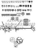 Проводка, кабина, одиночная педаль тормоза С1-1-2-ОР1
