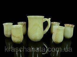 Набор кувшин 6 стаканов, оникс, Днепропетровск