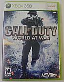 Игры для XBoX 360 СALL fo DUTY world at war регион NTSC