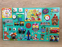 """""""Бизиборд """" busy board  60*100 см развивающая игрушка для мальчика"""