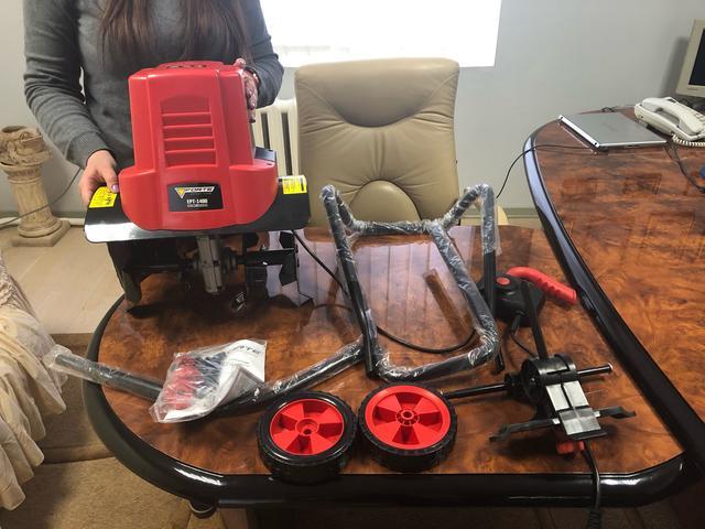 Эксплуатация электрокультиватора Forte ЕРТ-1400